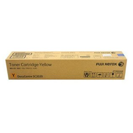 【免運】富士全錄 Fuji Xerox 原廠黃色 (Y) 標準容量碳粉匣 CT202249 適用 SC2020