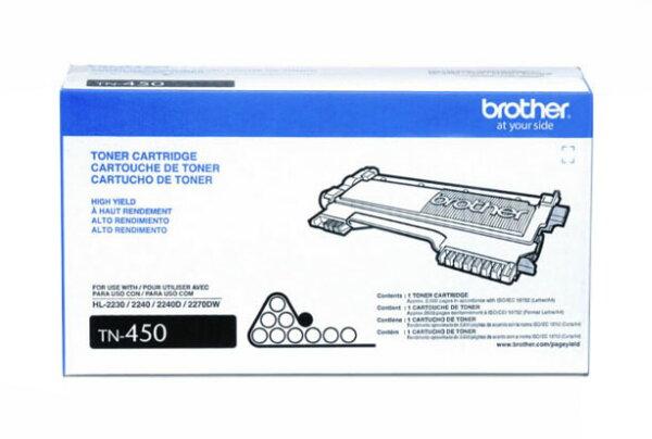 【免運】Brother 原廠高容量黑色碳粉匣 TN-450 適用HL-2240D/HL-2220/DCP-7060D/MFC-7360/MFC-7460DN/MFC-7860DW/FAX-2840