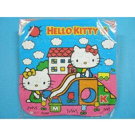 Hello Kitty凱蒂貓拼圖.KT幼兒卡通拼圖C678001(中弧型小42片拼圖/加厚)MIT製/一組{80}