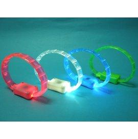 夜光手環 夜跑LED手環 LED發光手環 矽膠發光手環/一個入{定49}