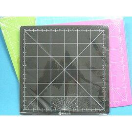 彩色切割墊 切割板 切割板20.5cm x 20.5cm(PVC軟質)MIT製/一片入{定45}