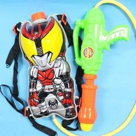 超人黃眼背包水槍 後背式水槍 可背式造型水槍 加壓式強力水槍/一個入{促299}~生-K313