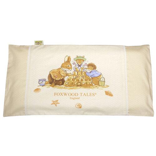 『121婦嬰用品館』狐狸村 彈力舒壓透氣嬰兒枕 - 米 0