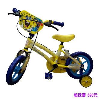 *美馨兒* 海綿寶寶12吋腳踏車 690元