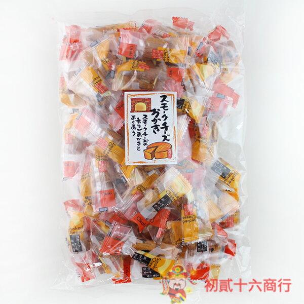 【0216零食會社】井崎商店_煙燻起司米果200g