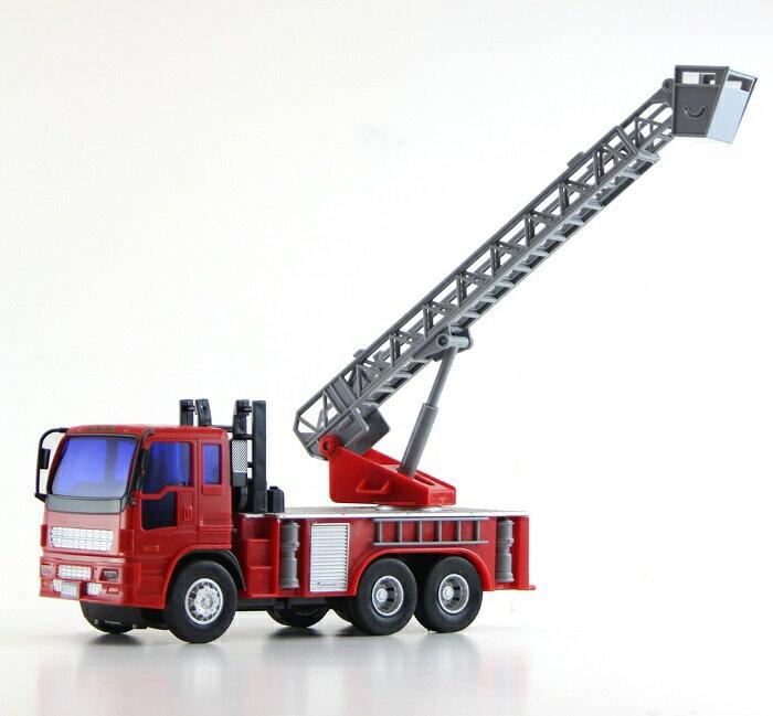 小小家 磨輪小型消防雲梯車 32508 5