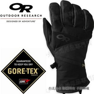 Outdoor Research 防水手套/滑雪手套/保暖手套 Gore-tex Centurion 243364 男款0001黑
