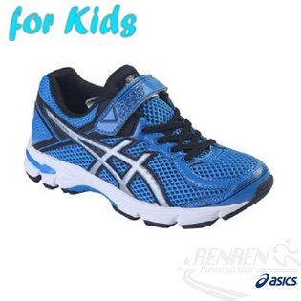 ASICS亞瑟士 兒童慢跑鞋 GT-1000 4 PS (藍)