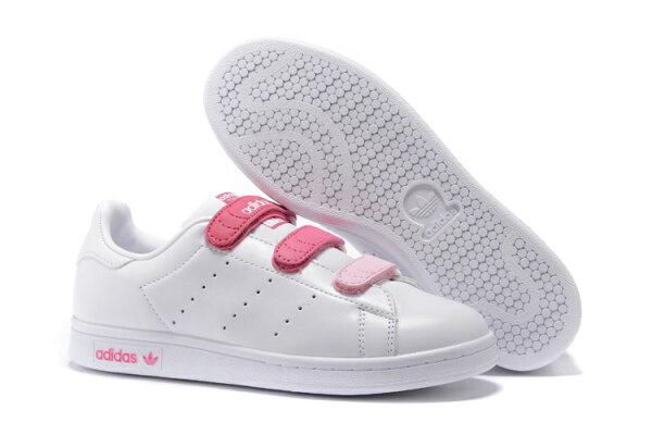 【限時5折】Adidas Stan Smith 白粉紅 女鞋