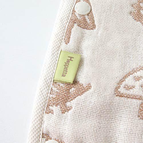 【安琪兒】日本【Hoppetta】無印森林有機棉六層紗防踢背心(幼童) 3