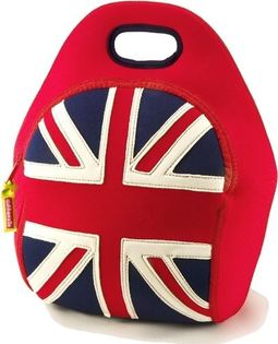 【WuWaa】美國環保品牌 dabbawalla bags 瓦拉包- 英國國旗午餐袋/手提包