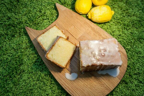 Pontus限量手作甜點 -黃檸檬磅蛋糕-長型 18*10cm