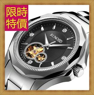 機械錶 男手錶-陀飛輪鏤空時尚經典男腕錶4色54t34【瑞士進口】【米蘭精品】