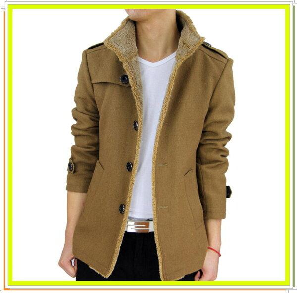 風衣外套 長大衣-流行時尚保暖防寒長版男外套6色5z37【韓國進口】【米蘭精品】