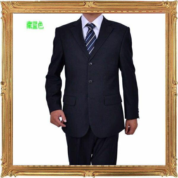 西裝套裝含西裝外套 西裝褲-時尚商務韓版修身男西服成套2色6x53【韓國進口】【米蘭精品】