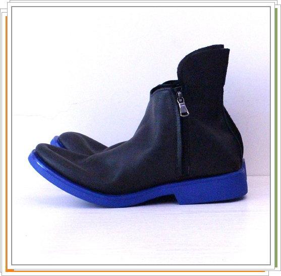 男靴子真皮馬丁靴-英倫時尚經典短筒靴2色5s64【義大利進口】【米蘭精品】