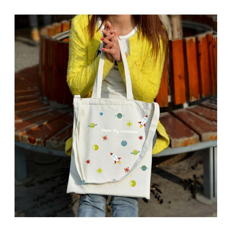 手提包 帆布袋 手提袋 環保購物袋【DEB005478】 BOBI  08/18 2