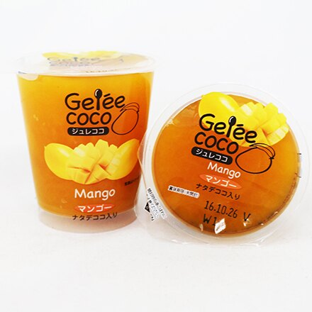 [敵富朗超市]和歌山芒果椰果果凍 1