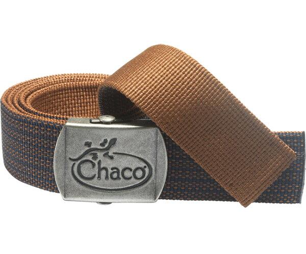 ├登山樂┤美國Chaco 雙面圖騰腰帶/皮帶 咖啡繡花 #CH-CB007HC80OS