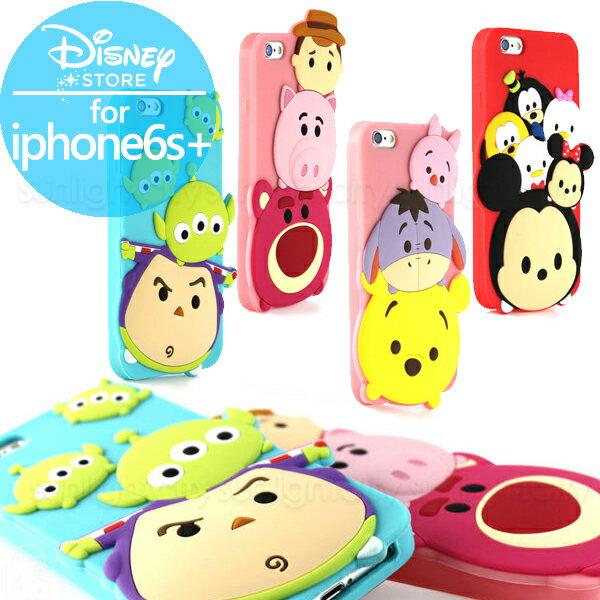 日光城。TSUM TSUM 立體保護套,iphone6+ iphone6s+專用 手機套手機殼保護殼蘋果手機迪士尼米奇維尼玩具總動員