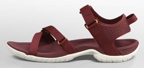 《台南悠活運動家》TEVA 美國 織帶運動水陸兩用鞋 涼鞋 暗紅 1006263-ZNF