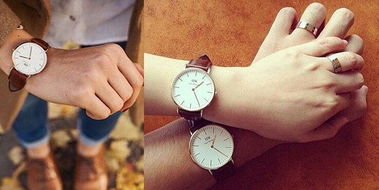 瑞典正品代購 Daniel Wellington 0106DW 玫瑰金 真皮 錶帶 男女錶 手錶腕錶 40MM 1