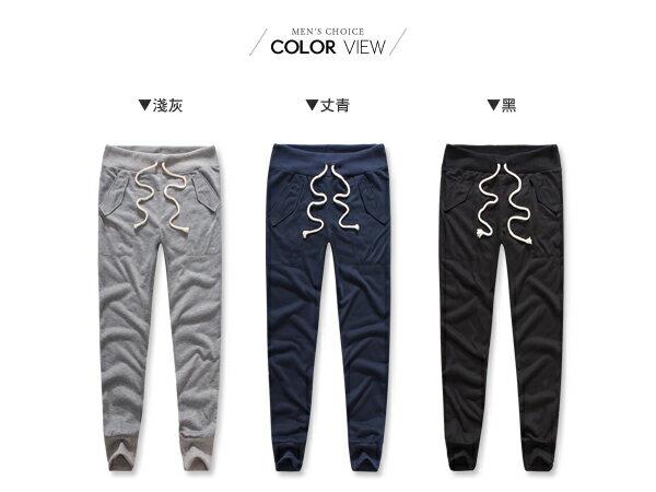 ☆BOY-2☆【OE20026】素面休閒棉質運動縮口褲 2