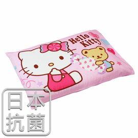 枕頭 兒童枕~kitty抗菌乳膠枕 精梳棉 我的甜蜜夥伴 美國棉 品牌^~鴻宇^~ 製~H