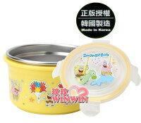 海綿寶寶週邊商品推薦海綿寶寶-633600不鏽鋼環保碗-加深型 (上蓋 - 密封設計) 使用高品質304不鏽鋼材製