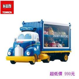 *美馨兒* 【日本TOMICA迪士尼】DS84419 唐老鴨夢幻展示貨車 990元