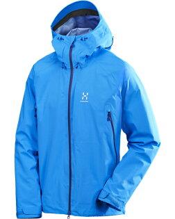 【鄉野情戶外專業】 HAGLOFS  瑞典  ROC GORE-TEX 透氣防水外套 男款/輕量風雨衣 登山外套 滑雪外套/602086