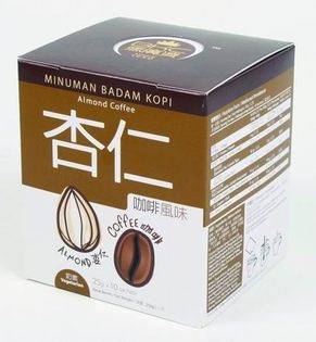 BKC馬廣濟 杏仁咖啡 25gX10包/盒 熱帶咖啡 南洋風味 原價$200 特價$169