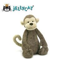 彌月禮盒推薦★啦啦看世界★ Jellycat 英國玩具 安撫玩偶 / 毛絨絨猴子 玩偶 彌月禮 生日禮物 情人節 聖誕節