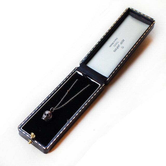 【海外訂購】【amp japan】聖骷髏不鏽鋼串珠項鍊(AMP-12AH-154  0596940000) 3