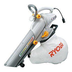 日本品牌RYOBI~RESV-1500 手持式 大口徑 電動 吹風機.吹葉機(吸葉機)可吸吹兩用(含稅價)