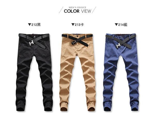 【NQ95001】《買長褲送長褲》美式潮流休閒縮口褲☆BOY-2☆ 3