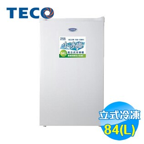 東元 TECO 84公升單門直立式冷凍櫃 RL84SW