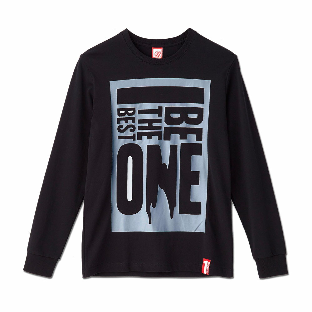 STAGEONE BE THE BEST ONE LS TEE 黑色 白色 兩色 4