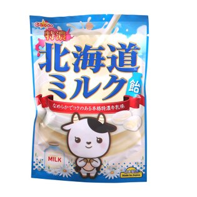 有樂町進口食品 日本進口 日本製鈴木榮光堂北海道牛奶糖 4571397150914