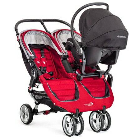 美國【Baby Jogger】Double雙人推車(紅) 2