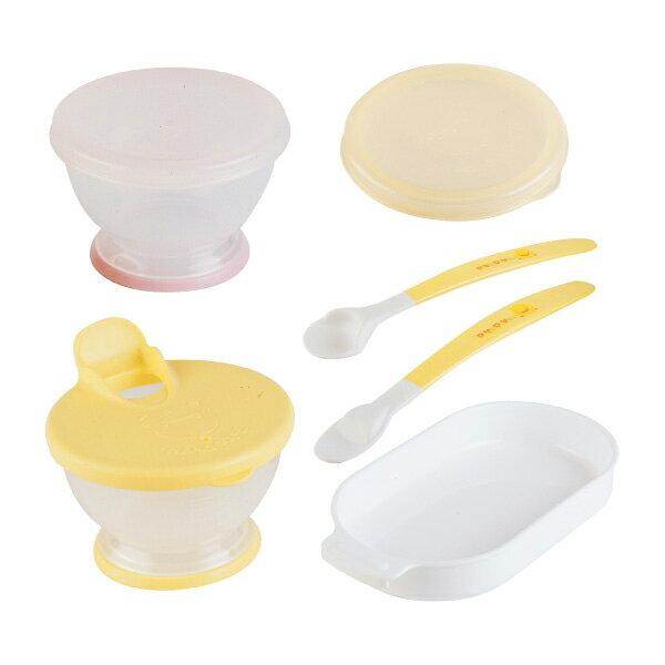 『121婦嬰用品館』黃色小鴨 離乳餐具8件組 0