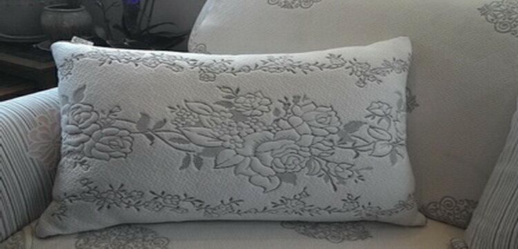[床工坊]( 台灣製造)立體天絲舒柔布羽絲絨枕----夏季新品 0