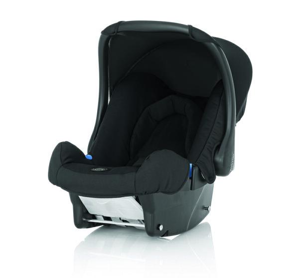 Britax - BABY-SAFE 提籃型安全汽車座椅(汽座) -黑