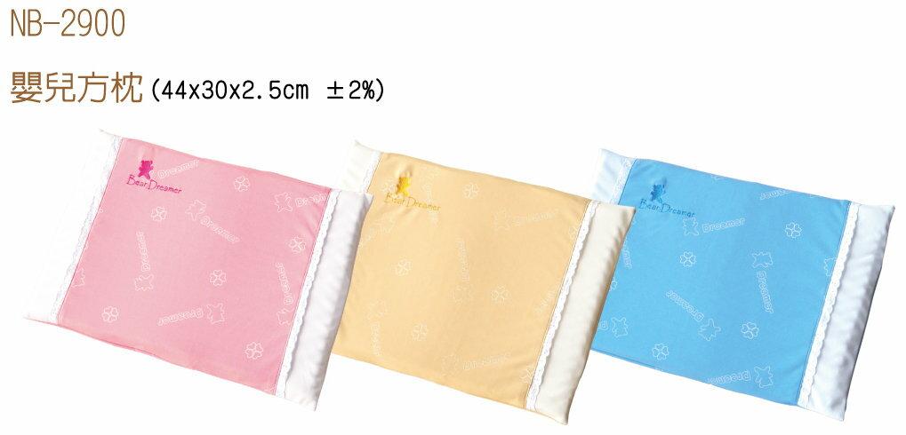 Mam Bab夢貝比 - 好夢熊嬰兒方枕 -單布套 (粉、黃、藍) 3