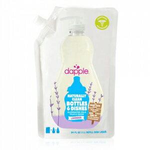 美國【Dapple】天然奶瓶/餐具清潔液 -薰衣草(1l) 0