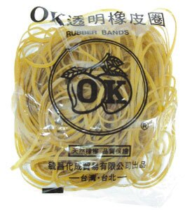 【OK 橡皮圈】#30∮81mm橡皮圈/橡皮筋/膠圈4兩/對折12.5cm(特大)