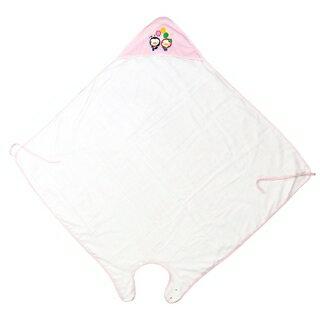『121婦嬰用品館』PUKU 寶寶沐浴圍裙 - 粉 0