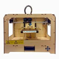 3D印表機【flashforge 3D printer】(規格22.5*14.5*15cm) 似MakerBot Replicator雙噴頭機型 3D列印印表機 3D打印機 3D printer