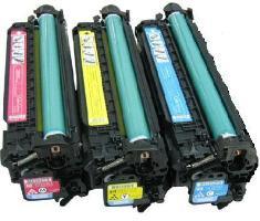 台灣耗材☆HP 環保碳粉匣(504A)CE251A藍色/CE252A黃色/CE253A紅色 顏色單支任選 適用HP CP3525N/CP3525/CM3530 雷射印表機 ★