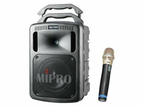 MIPRO MA-708 豪華型手提式無線擴音機 附兩支無線麥克風